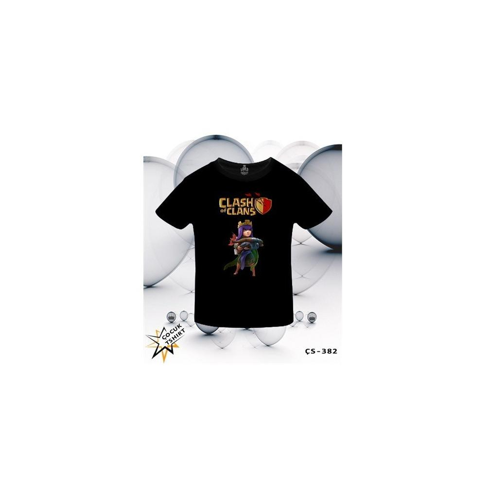 En Ucuz Lord Clash Of Clans Archer Queen Siyah 12 Ya T Shirt Fiyatlar The