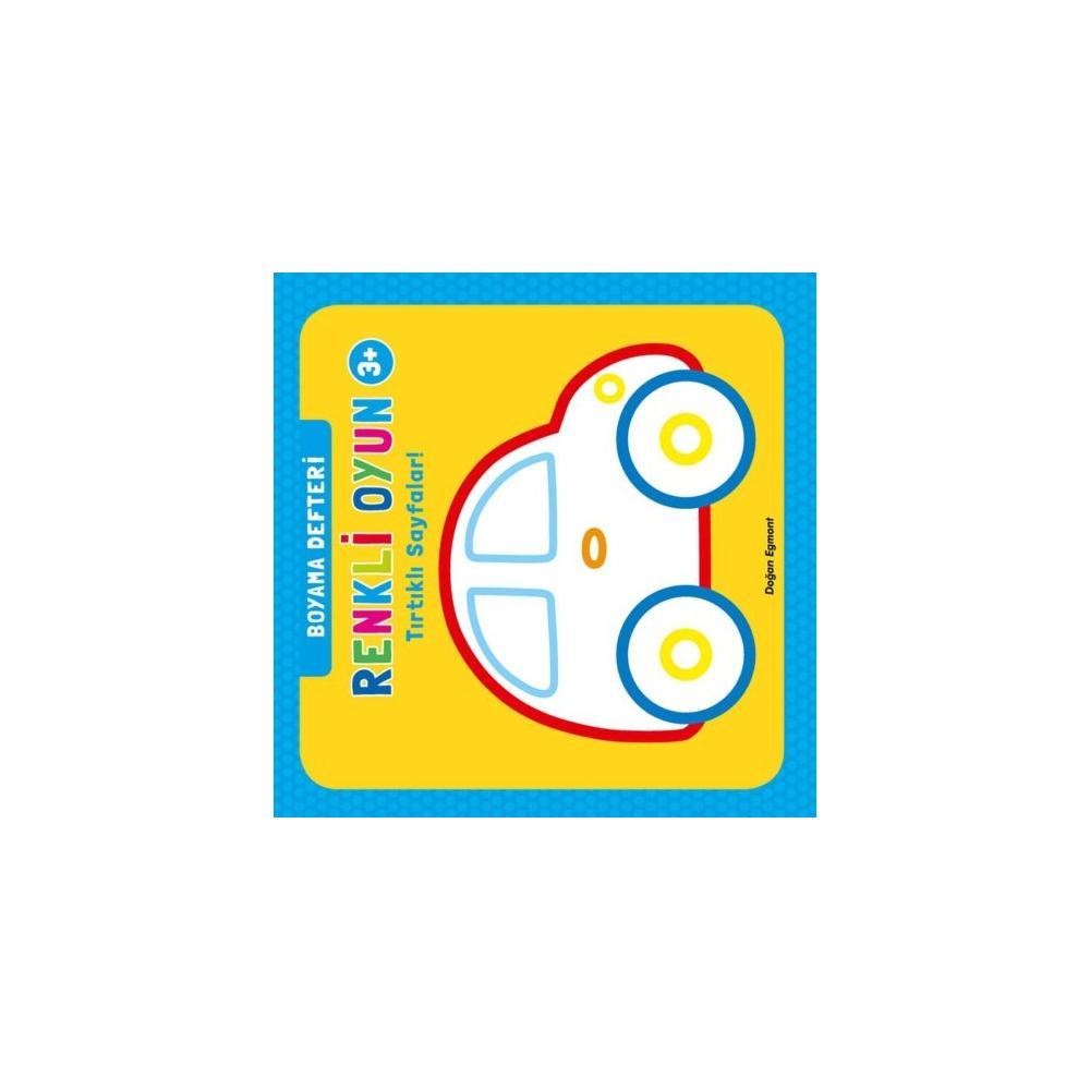 En Ucuz Renkli Oyun Boyama Defteri Tırtıklı Sayfalar Kollektif