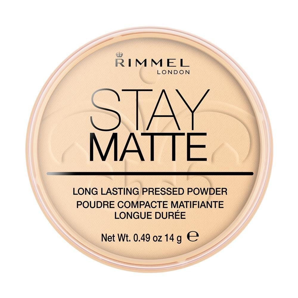 En Ucuz Rimmel London Stay Matte Pressed Powder 14 Gr No001 Transparent Pudra Fiyatlar