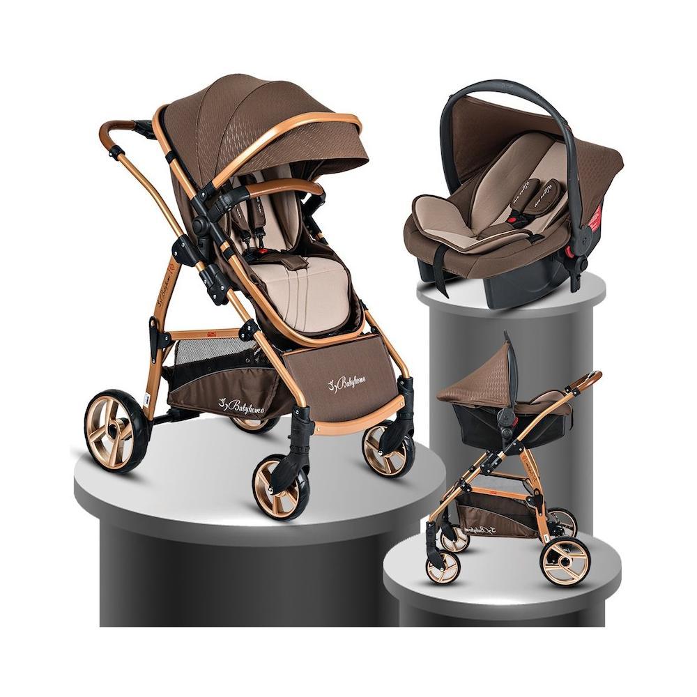 Baby Home BH-855 Mix Gold Travel Sistem Bebek Arabası Fiyatları