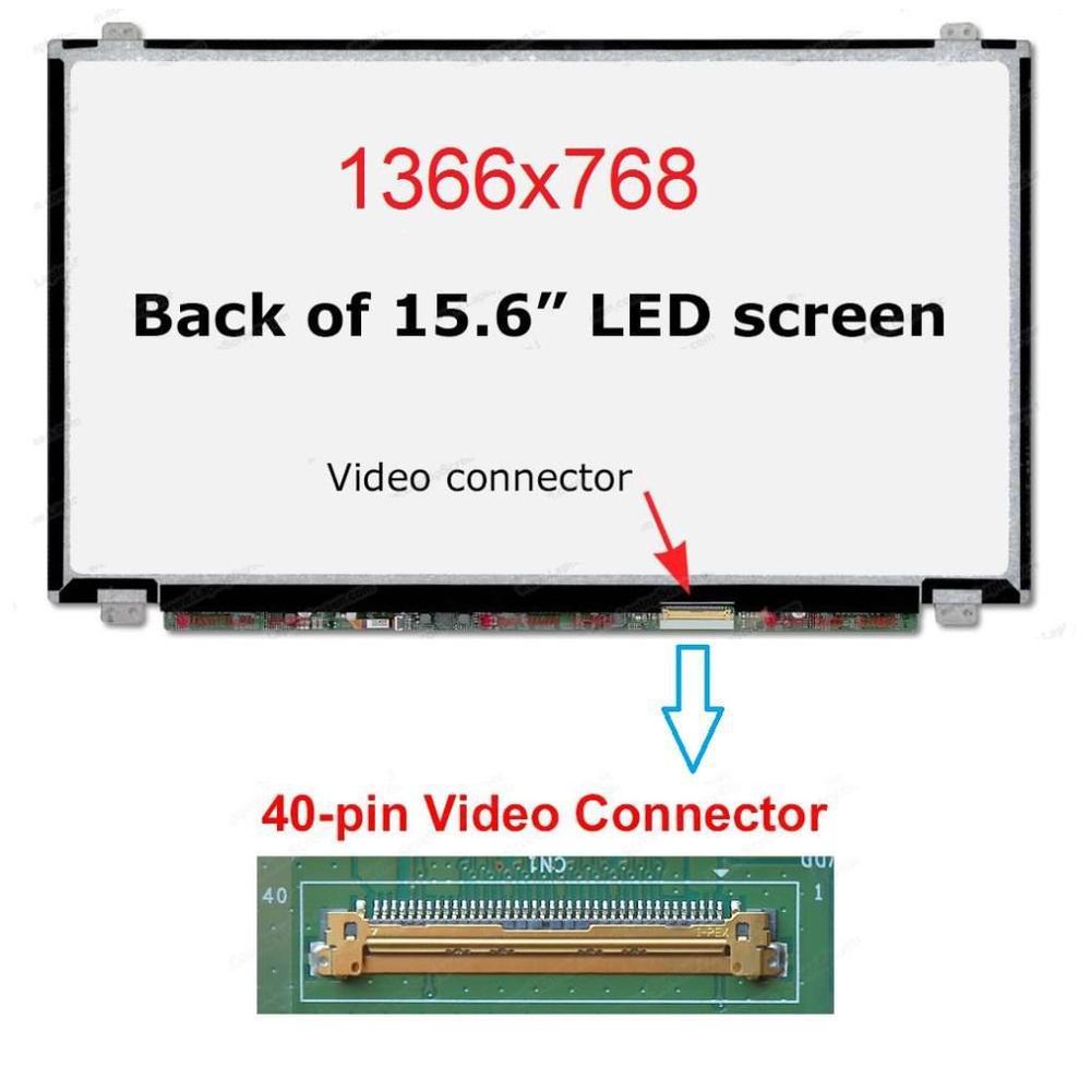dell inspiron 3521 g33w41c 15 6 slim led 40 pin uyumlu lcd ekran panel
