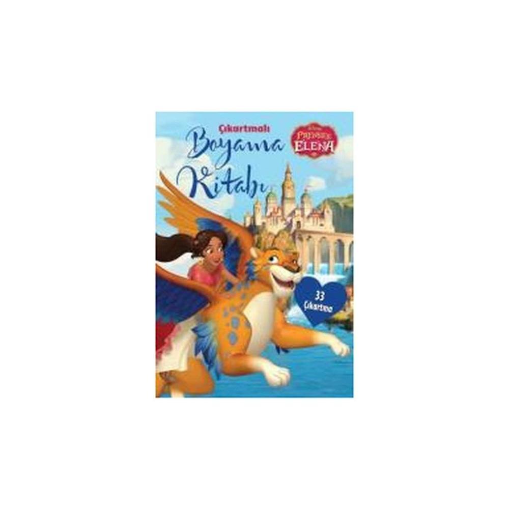 En Ucuz Disney Prenses Elena Cikartmali Boyama Kitabi