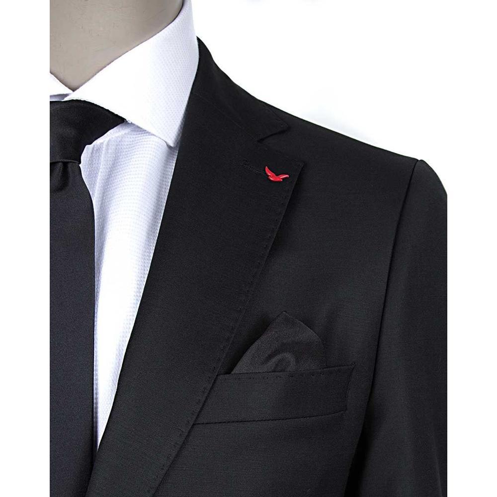 2e78350076e1a En Ucuz D'S Damat 2HE05OB35577D001 Siyah Slim Fit Takım Elbise Fiyatları