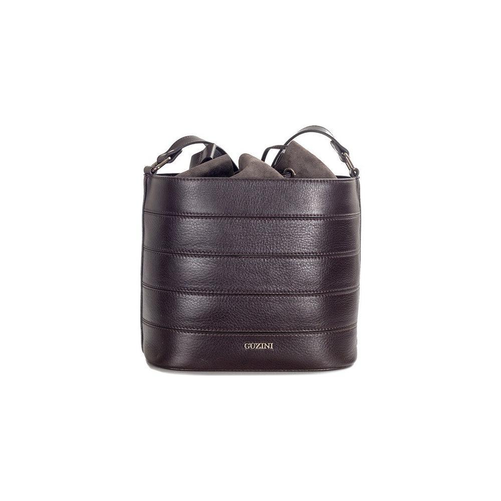 cefe9dd9a3b03 En Ucuz Guzini Kova Model Kahverengi Kadın Günlük Deri Çanta Fiyatları