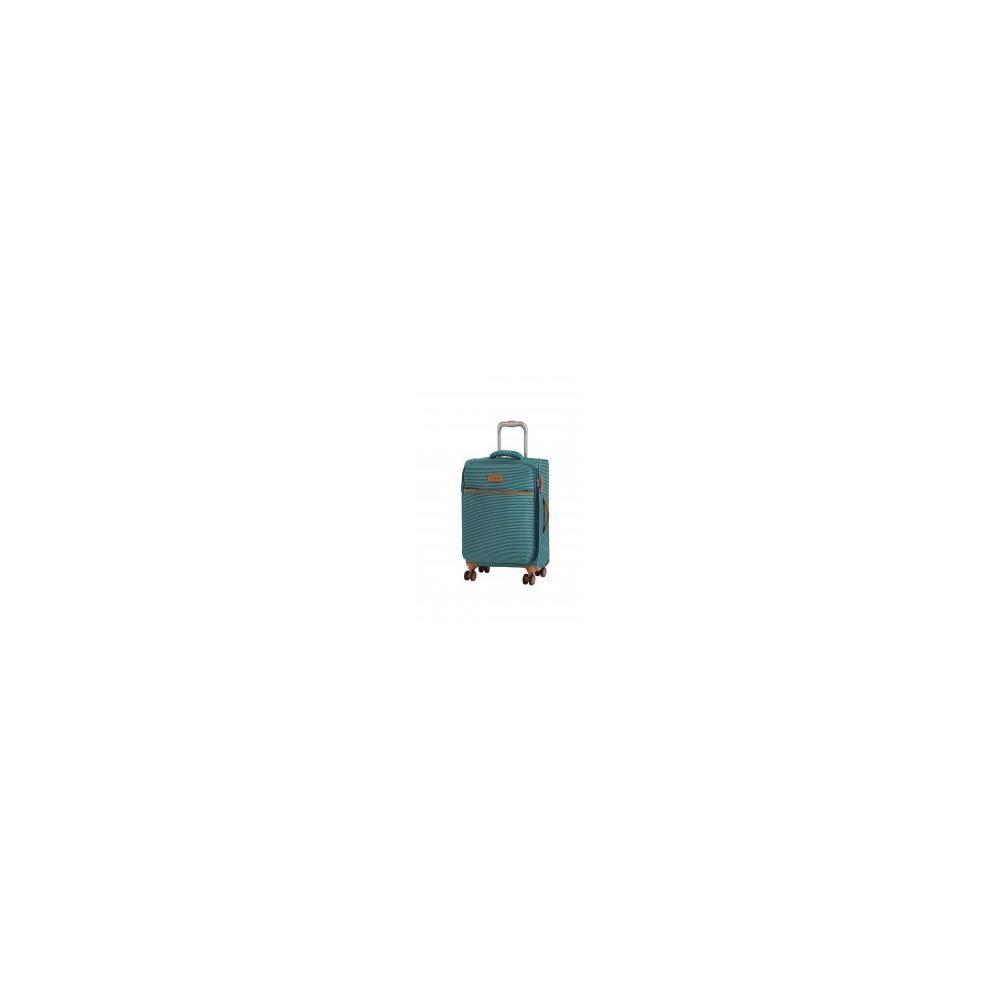34b8f4a632456 En Ucuz It Luggage 2262 Yeşil Çizgili Kumaş Valiz Seti Fiyatları