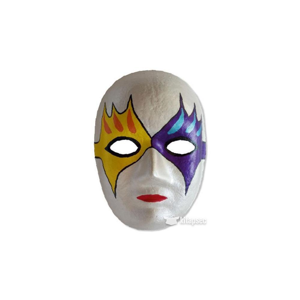 Maske Boyama Ornekleri Kolay