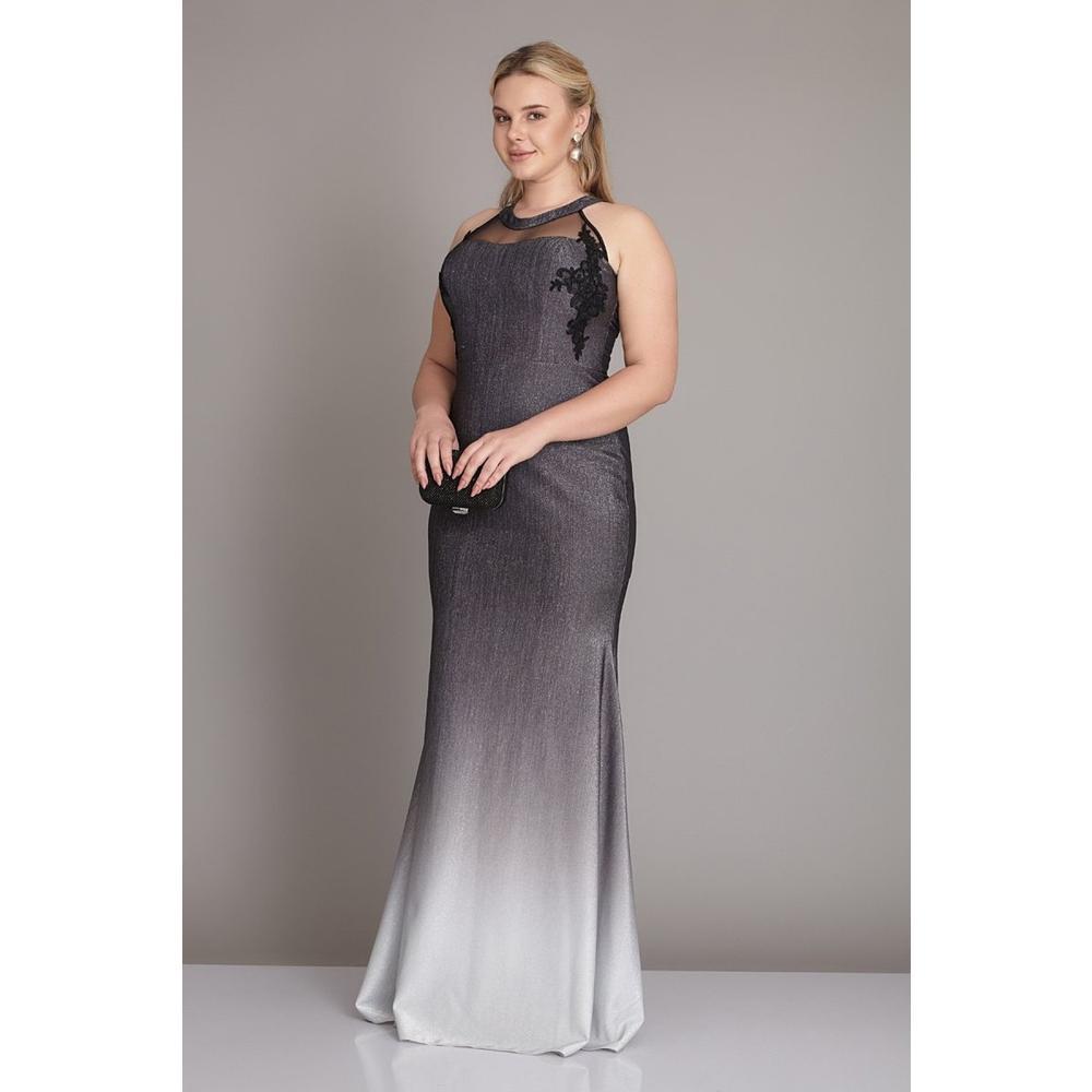 ba0ea29523917 En Ucuz Keikei 862290 Siyah Beyaz Örme Uzun Kolsuz Abiye Elbise Fiyatları