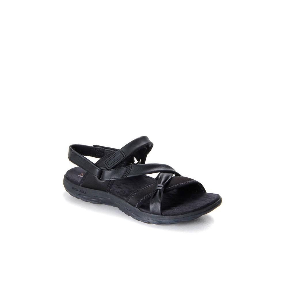 ee996a02fd7b En Ucuz Merrell Vesper Lattice J03674.137 Siyah Kadın Sandalet Fiyatları