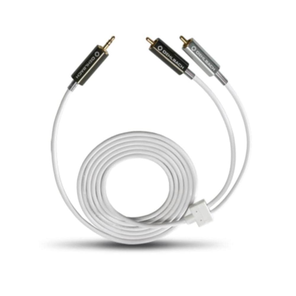 Oehlbach 2 m Beyaz MP3! Serisi 3,5mm'den RCA'ya Dönüştürücü Kablo Fiyatları