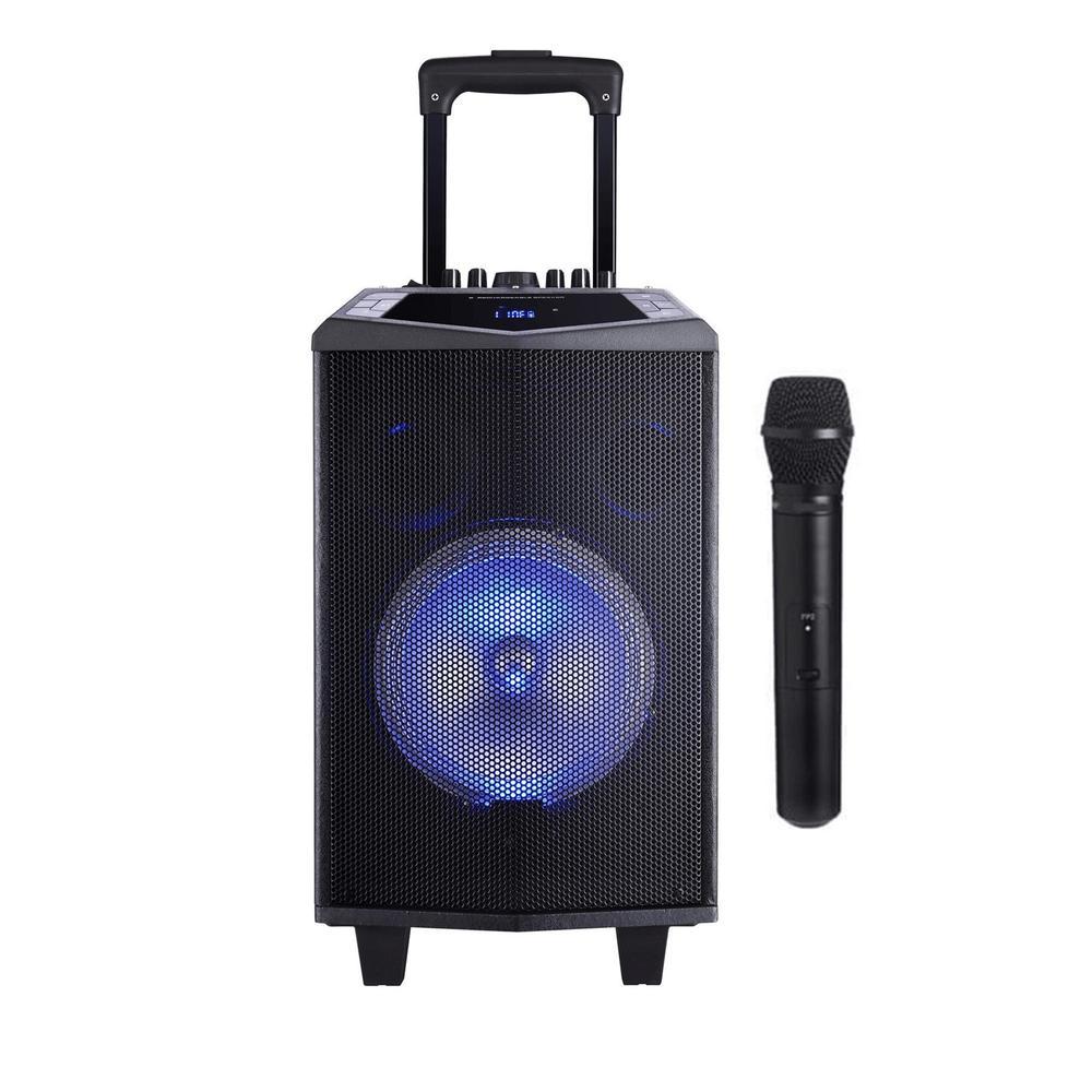 Oyility DK-8İ 200 Watt Karaoke Mikrofonlu Taşınabilir Hoparlör Ses Sistemi  Fiyatları