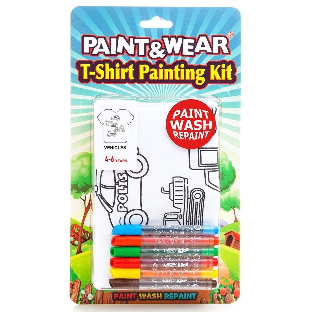 Paint Wear 7 8 Yas Araclar Tisort Boyama Seti Fiyatlari