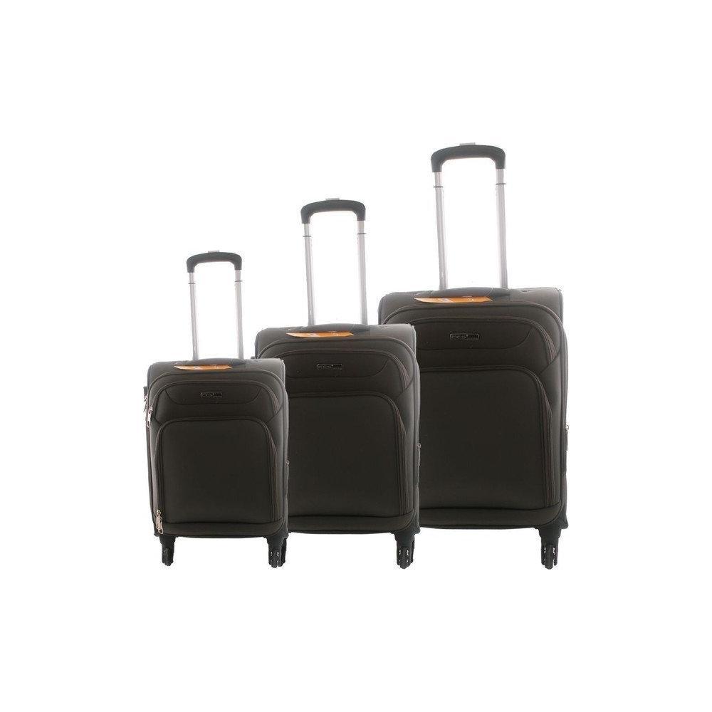 9a5f3b17304c8 ÇÇS 410 Haki 3'lü Kumaş Valiz Seti Modelleri & Fiyatları