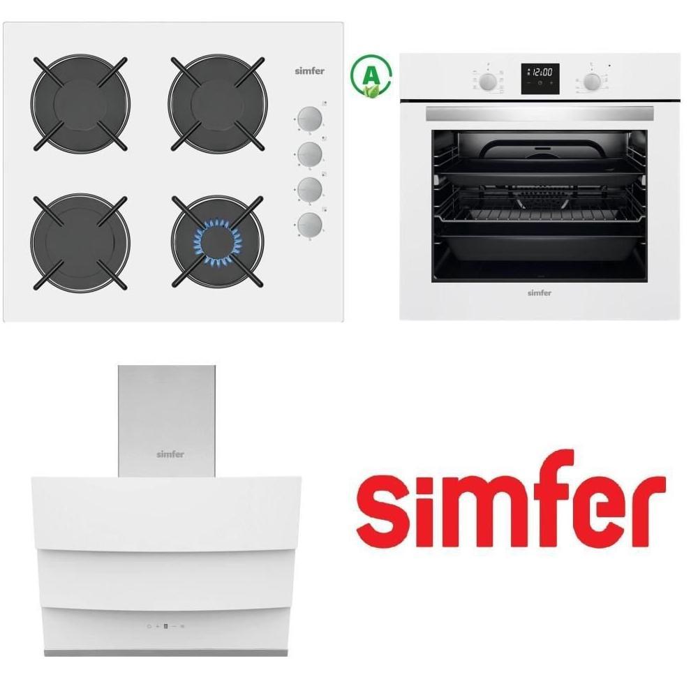 Simfer 7310 + 3507 + 8688 Ankastre Set Fiyatları