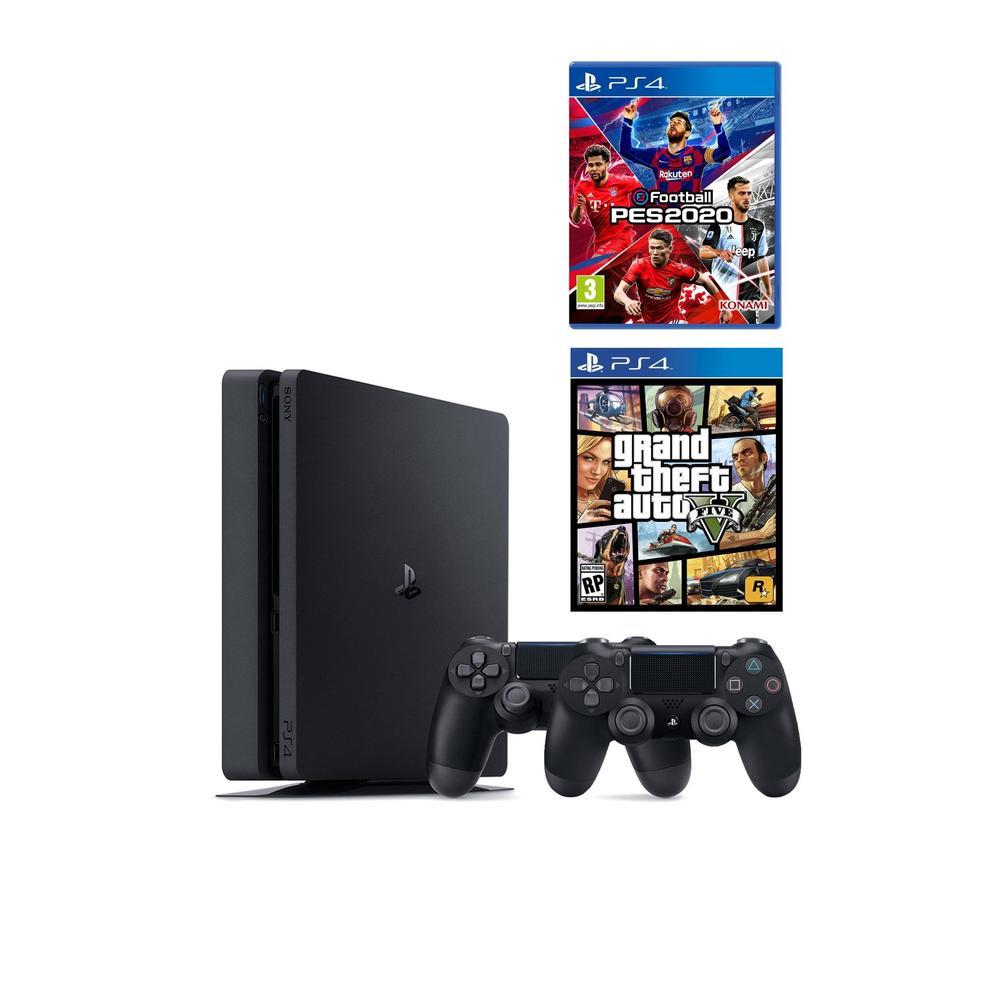 Sony Playstation 4 Slim 1TB + 2.Kol + PES 20 + GTA 5 Fiyatları