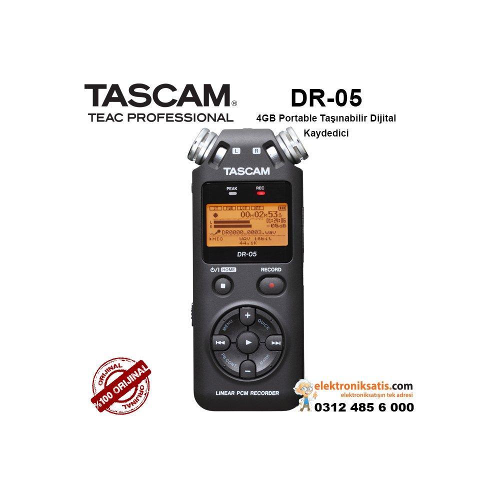 Tascam DR-05 Ses Kayıt Cihazı Fiyatları