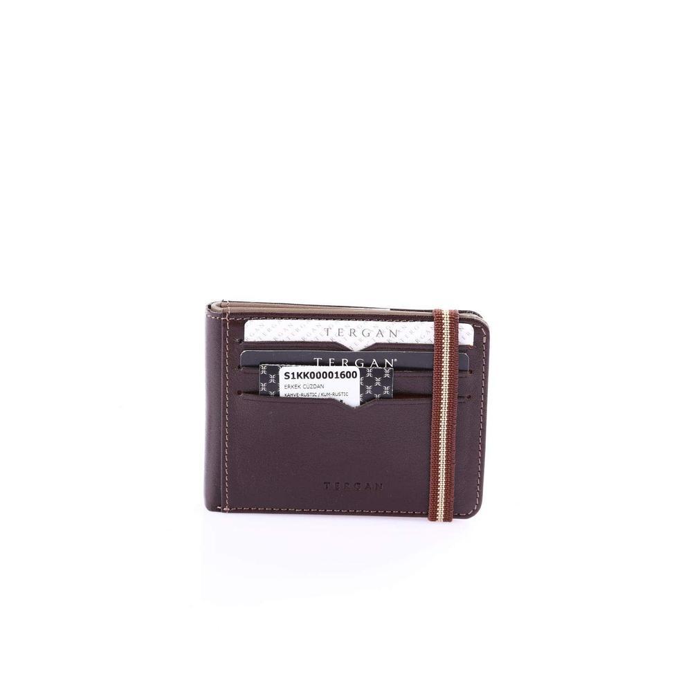bb510c4167eb2 En Ucuz Tergan S1KK00001600 Kahve Erkek Kredi Kartlık Fiyatları