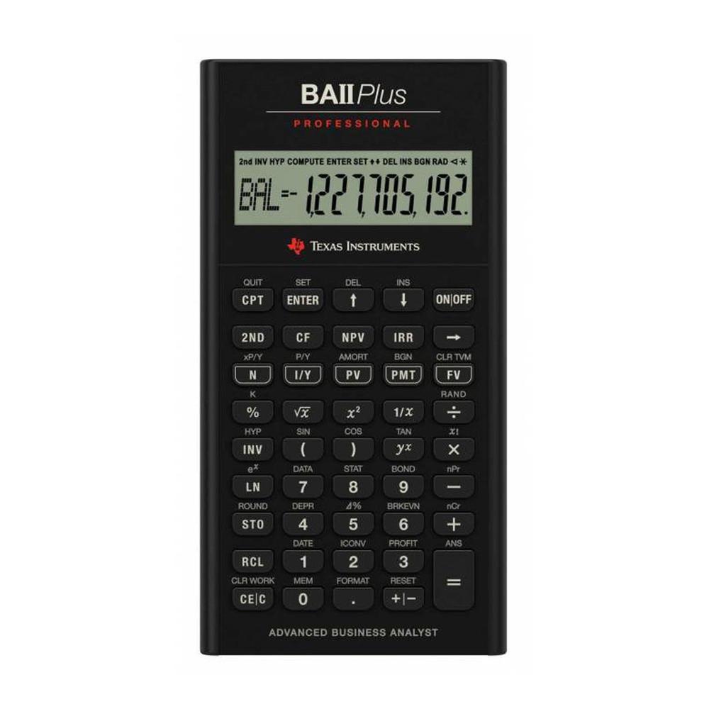 Texas Instrumets BA II PLUS Professional Finansal Hesap Makinesi Fiyatları
