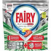 Fairy Platinum Plus 60 Yıkama Bulaşık Makinesi Deterjanı Kapsülü