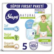Sleepy Natural No:5 Junior 100 Adet Külot Bebek Bezi