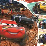 Trefl Çocuk Puzzle Lightning McQueen with Friends / Disney 60 Parça