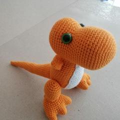 Amigurumi Trex Dinozor Tarifi | Dinozorlar, Amigurumi modelleri, Amigurumi | 240x240