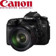 Canon EOS 70D 24-105mm IS STM  Lens DSLR Fotoğraf Makinesi