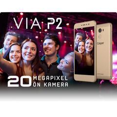 Casper VIA P2 32 GB 5.3 İnç Çift Hatlı 20 MP Akıllı Cep ...
