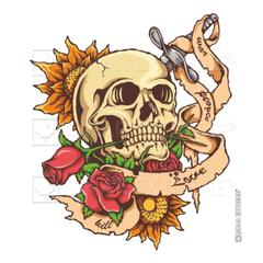 Çınar Extreme Love - People - War Skeletor Sticker