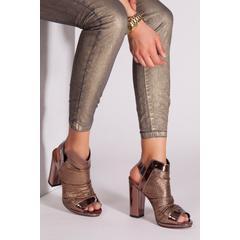 En Ucuz Derithy Msv0047 Bakır Rengi Kadın Topuklu Ayakkabı Fiyatları