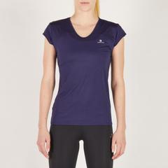 913dd0f01ca23c En Ucuz Domyos FTS 100 Lacivert Kadın Fitness Kardiyo T-shirt Fiyatları
