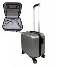 ea3202bc68bc5 Escape Pilot Valiz Kabin Tipi 3 Kademeli Çekçekli 1. Sınıf Bavul Kırılmaz  ABS Plastik 4 Teker Valiz ...