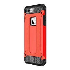 8d91f16afeb4f Jopus Apple iPhone 7 Plus Kılıf Ultra Lüx Çift Katmanlı Darbe Emici Crash  Kılıf + Nano Ekran Koruyucu - Kırmızı ...