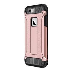bc5ce5ad169f8 Jopus Apple iPhone 8 Plus Kılıf Ultra Lüx Çift Katmanlı Darbe Emici Crash  Kılıf + Nano Ekran Koruyucu - Rose Gold ...