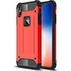 d267b57f74bc6 Jopus Apple iPhone XS Max Kılıf Ultra Lüx Çift Katmanlı Darbe Emici Crash  Kılıf + Nano Ekran Koruyucu - Kırmızı ...
