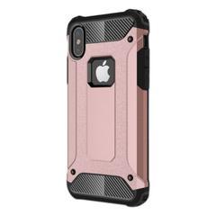 1c4230986b34d Jopus Apple iPhone X Ultra Lüx Çift Katmanlı Darbe Emici Crash Ön Arka Rose  Gold Kılıf ...