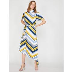 67eb4ed0fe4b0 En Ucuz Koton 9KAK88878PW Sarı Kadin Elbise Fiyatları