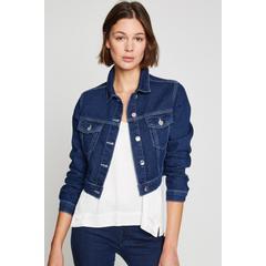 5fd7321475cf8 En Ucuz Koton 8YAL51500MDFA5 Klasik Yaka Jean Kadın Ceket Fiyatları