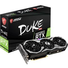 MSI GeForce RTX 2080 Duke 8G OC 8GB GDDR6 256Bit DX12 Gaming Ekran Kartı