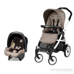 Peg Perego Switch Four Jet Sportivo Bloom Beige Travel Sistem Bebek Arabasi