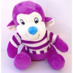 En Ucuz Peluşcu Baba Mor Tatlı Maymun 23 Cm Peluş Oyuncak Fiyatları