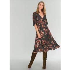 580b9f1330dea En Ucuz People By Fabrika PWB32 Yeşil Kadın Elbise Fiyatları