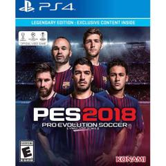 PES Pro Evolution Soccer 2018 Legendary Edition PS4