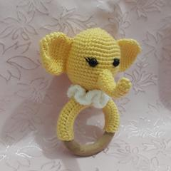 Pembe Bebek Amigurumi El Örgüsü Oyuncak   240x240
