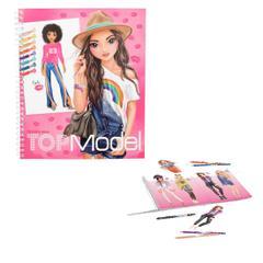 Top Model 10203 Tasarim Boyama Kitabi Fiyatlari