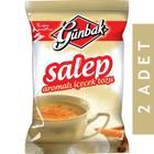 2 Adet Günbak Salep Sahlep Aromalı İçecek Tozu 250 gr