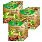 3 Adet x 60 Süzen Poşet Tarçın Stevia Bitki Çayı
