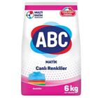 ABC Matik Renkliler İçin 6 kg Toz Çamaşır Deterjanı