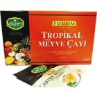 Akzer 30 gr Tropik Meyve Karışık Bitki Çayı