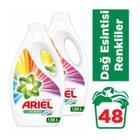 Ariel2x1560 ml Parlak Renkler Sıvı Çamaşır Deterjanı
