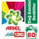 Ariel Dağ Esintisi Renkliler için 12 kg Toz Çamaşır Deterjanı